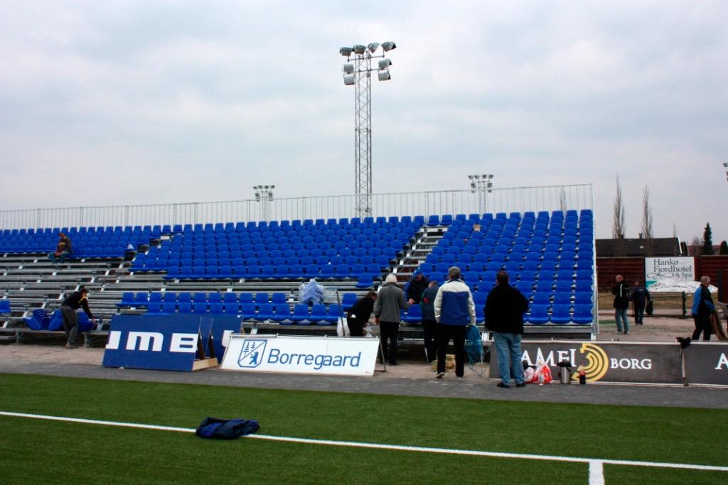 Sarpsborg Stadion Montasje