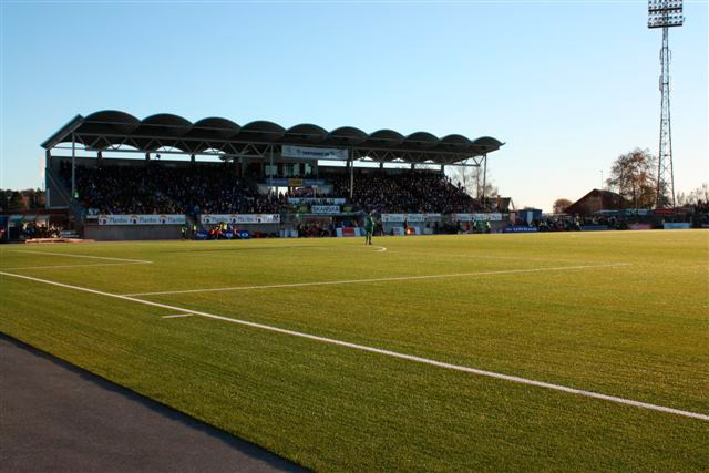 Sarpsborg Stadion Hovedtribuner