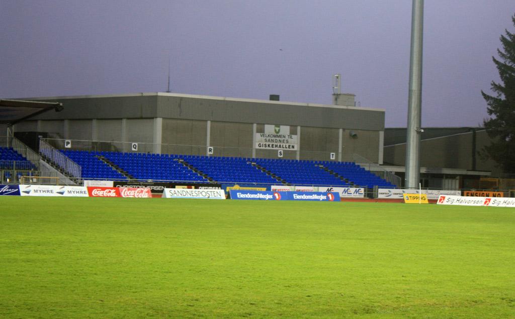 Sandnes Stadion 2012